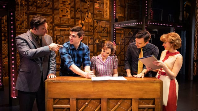 Beautiful the Carole King Musical - Group by piano