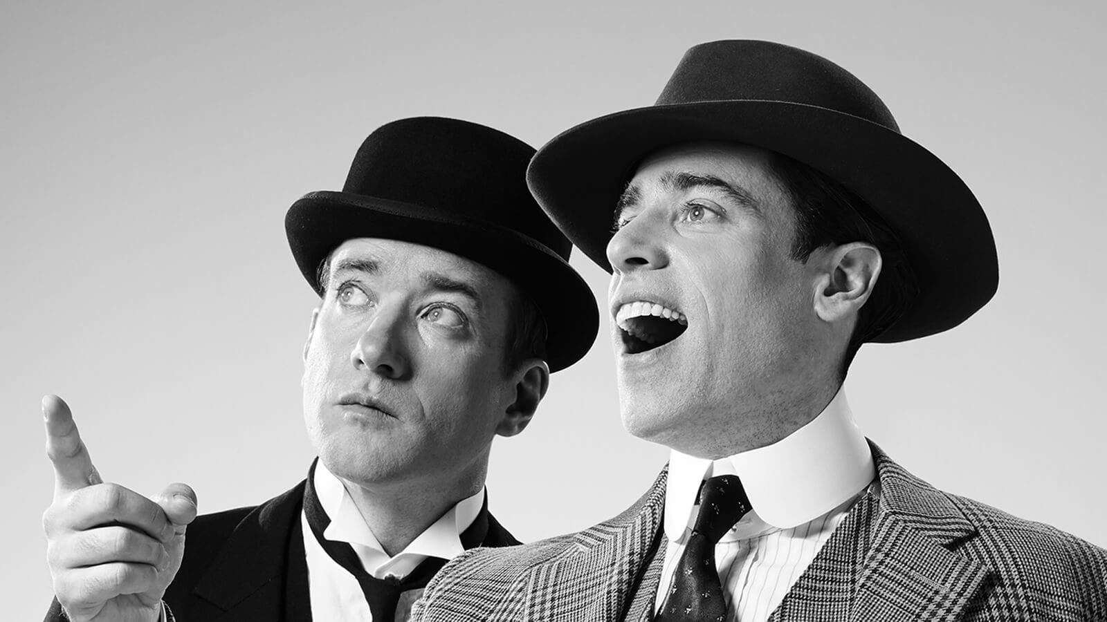 Jeeves and Wooster production shot