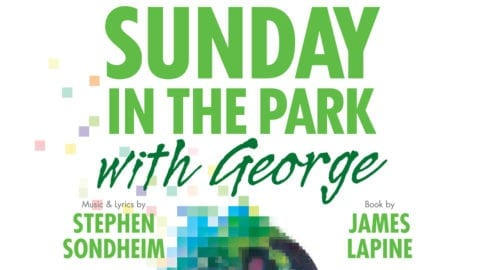 Sunday in the Park with George title treatment