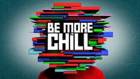 Be More Chill title treatment artwork