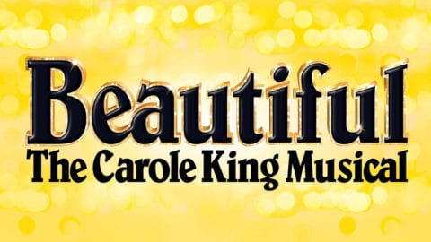 Beautiful the Carole King Musical title treatment