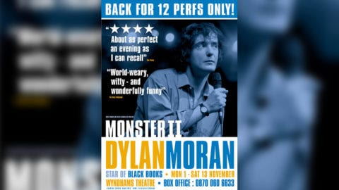 Dylan Moran Monster II poster artwork