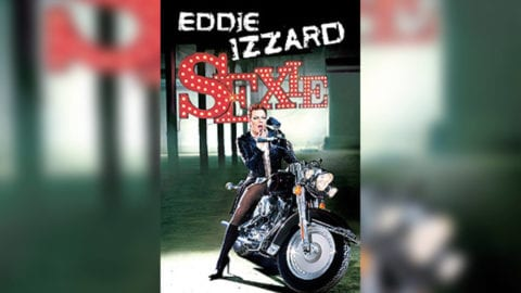 Eddie Izzard Sexie poster title treatment