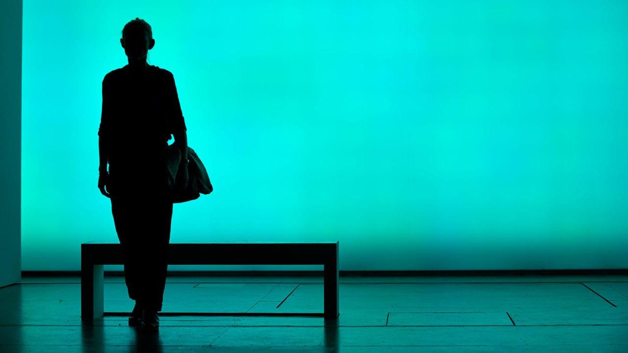 Anne-Marie Duff in Heisenberg: The Uncertainty Principle. Photo by Brinkhoff/Mögenburg