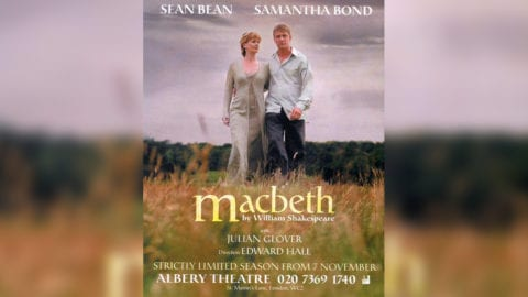 Macbeth poster title treatment