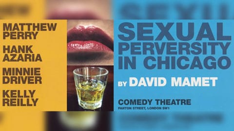 Sexual Perversity in Chicago poster artwork