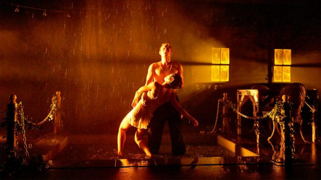 Rob McNeill and Kate Jackson. Punchdrunk. The Drowned Man A Hollywood Fable. Photo Birgit & Ralf
