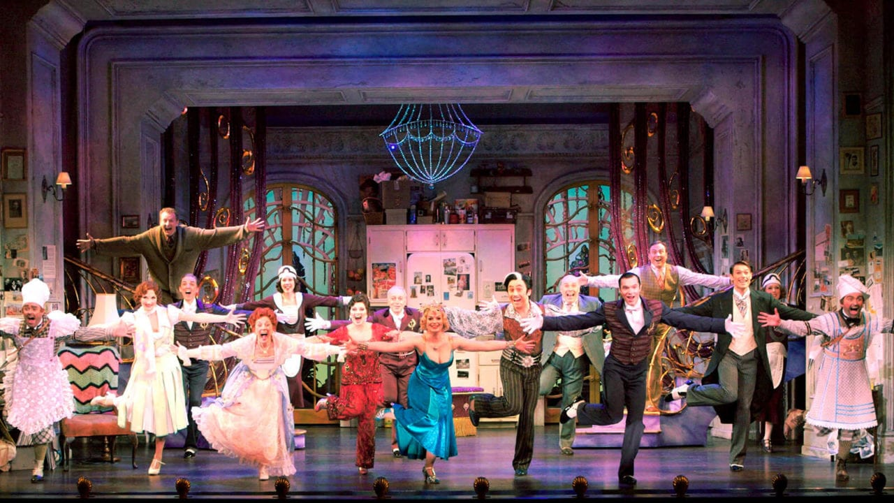 The Drowsy Chaperone Cast production shot