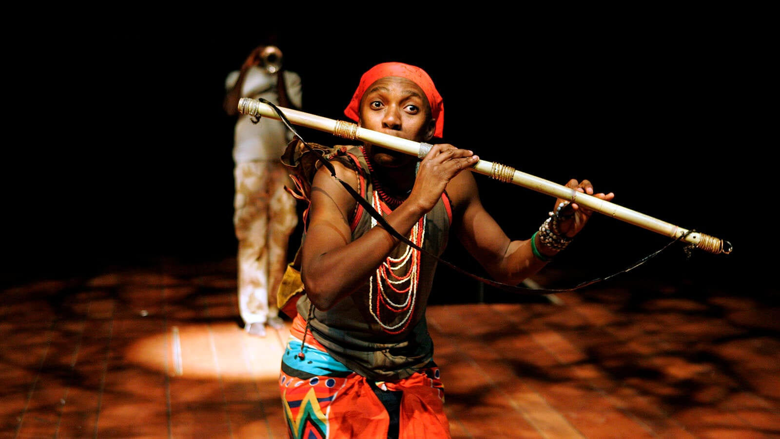 The Magic Flute Mhlekazi Andy Mosiea as Tamino in The Magic Flute Impempe Yomlingo Photo by Keith Pattison