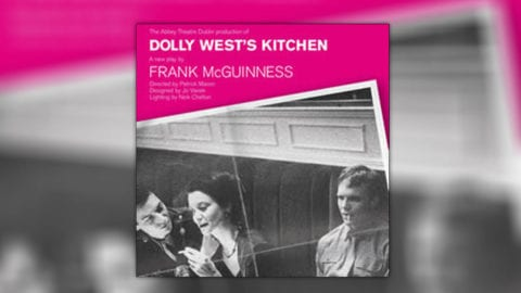 Dolly West's kitchen poster