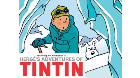 Hergé's Adventures of Tintin poster