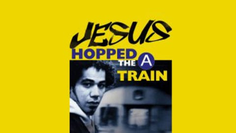 Jesus hopped the A train poster