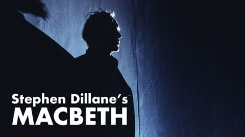 Stephen Dillane's Macbeth poster