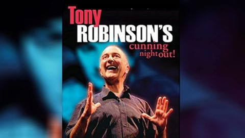 Tony Robinson's Cunning Night Out poster