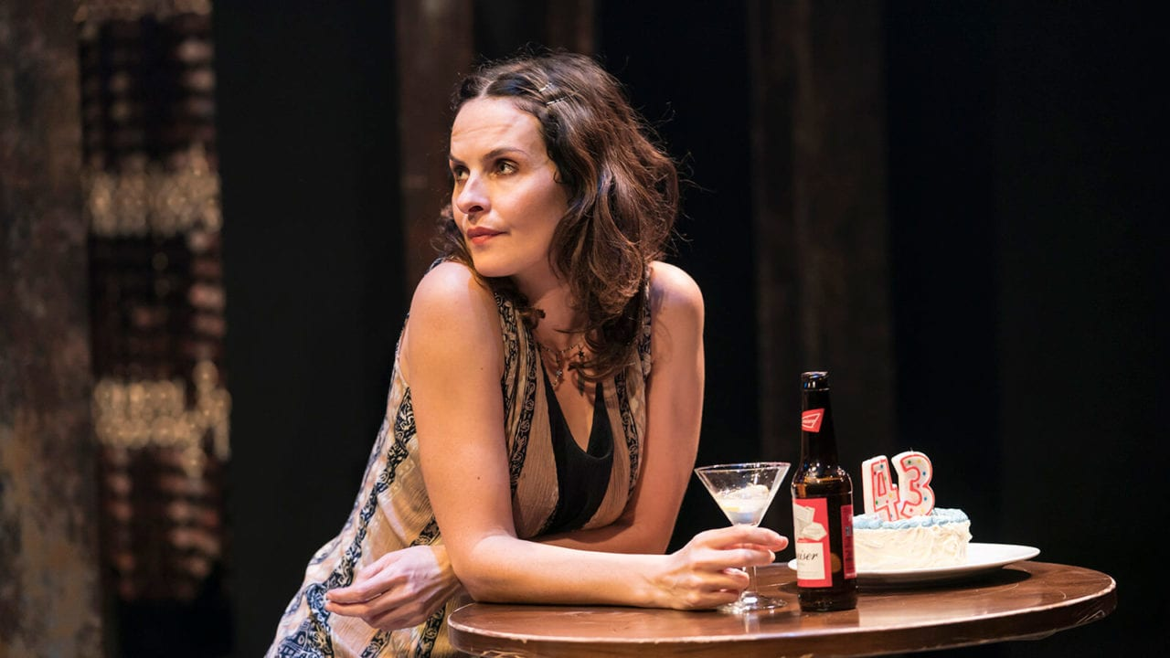Leanne Best in Sweat at the Donmar Warehouse. Photo Johan Persson
