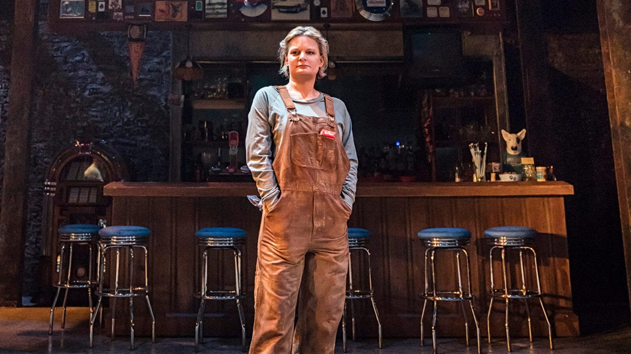 Martha Plimpton in Sweat at the Donmar Warehouse. Photo Johan Persson