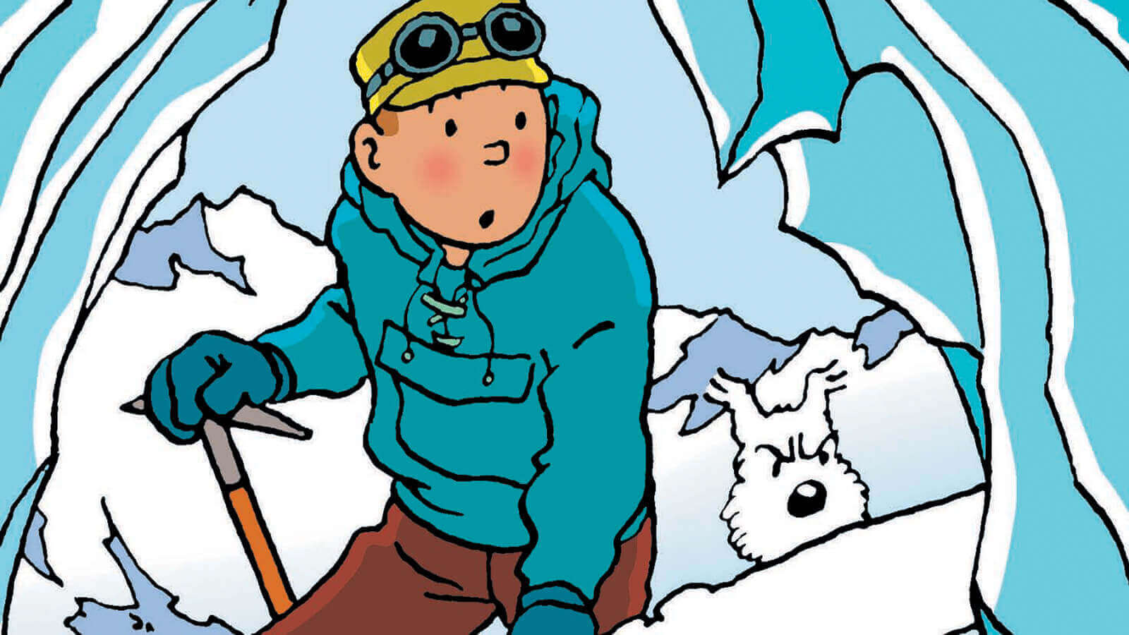 Hergé's Adventures of Tintin Poster Artwork