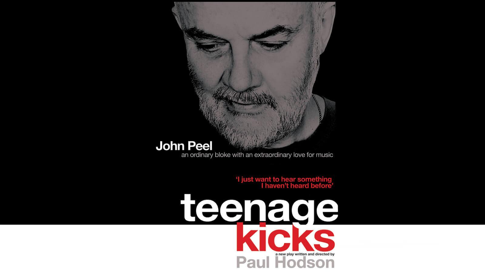 Teenage Kicks Poster Artwork